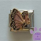 June BUTTERFLY Birthstone pinky-pearl alexandrite colored wings