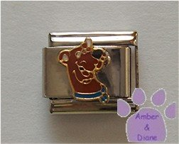 Scooby Doo Italian Charm from Hanna Barbera