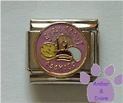 GIRL SCOUT COOKIES Italian Charm with lots of cookie varieties