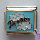 Dream set in Glitter Clouds in Sky Italian Charm Dare to Dream