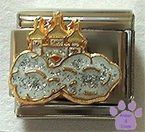 Fairy Castle in Glitter Clouds Italian Charm