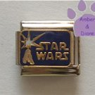 STAR WARS Italian Charm with a Light Sabre