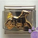 Harness Horse Racing Italian Charm - Trotter or Pacer
