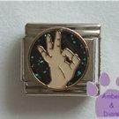 Okay Symbol Italian Charm American OK hand sign