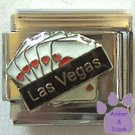 Las Vegas Flush in Hearts Italian Charm Poker Hand