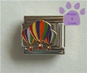 Colorful Hot Air Balloons Italian Charm
