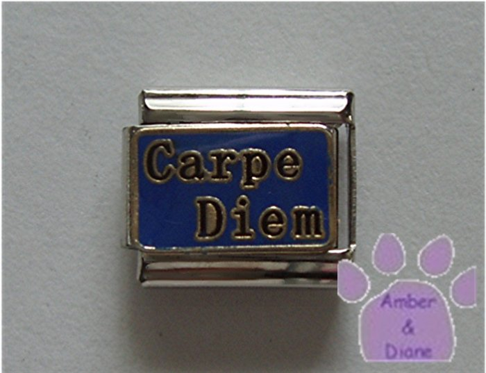Carpe Diem Italian Charm Seize the Day