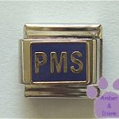 PMS Italian Charm on blue enamel background