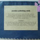 Jewelry Polishing Cloth for Silver, Gold, Platinum