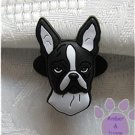 Boston Terrier Shoe Doodle Dog Charm for Crocs
