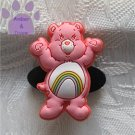 Cheer Bear Shoe Doodle Charm Carebears pink Care Bears for Crocs