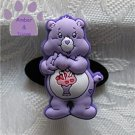 Share Bear Shoe Doodle Charm Carebears lavender Care Bears for Crocs