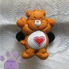 Tenderheart Bear Shoe Doodle Charm Carebears brown Care Bears for Crocs