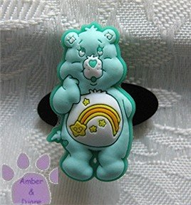 Wish Bear Shoe Doodle Charm Carebears aqua Care Bears for Crocs