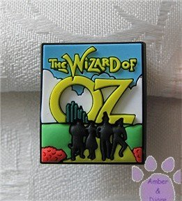 The Wizard of Oz - yellow brick road Shoe Doodle Charm for Crocs