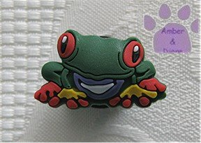 Tree frog shoe or clog charm for Crocs
