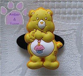 Birthday Bear Shoe Doodle Charm Carebears yellow Care Bears for Crocs