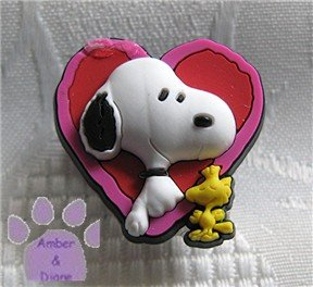 Love Snoopy and Woodstock Shoe Doodle - from the Peanuts Gang