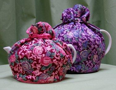 Raspberry Bramble 3-Cup Tea Cozy