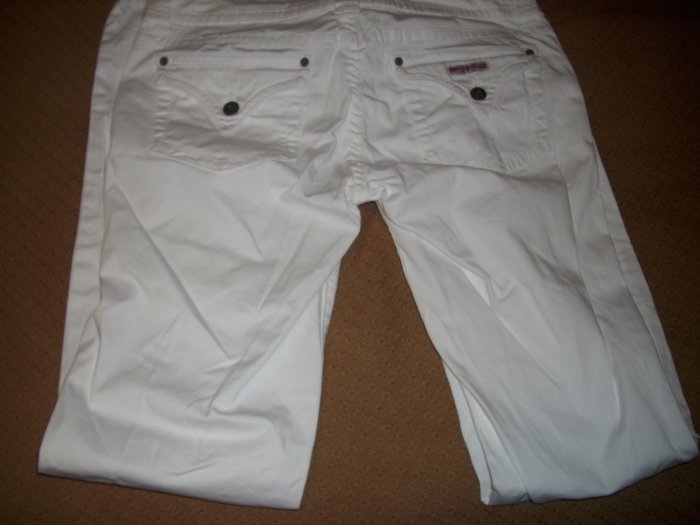 White Hudson Pants! Size 30!
