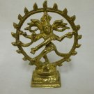Dancing Shiva / Natraj- India Solid Brass Bright Finish