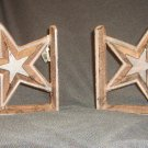 Ironwork Lone Star Book End Set of 2