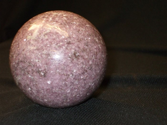 Lepidolite Sphere- Large and Fabulous Collectible!