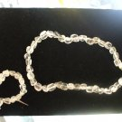 Crystal Quarts Necklace and Bracelet