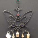 Iron Work Butterfly Wind Chime