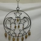 Moon And Stars Ironwork Wind Chime