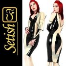 Sexy Costume Latex catsuit Latex Dress   #skn004 hot sale !!
