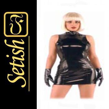 Latex catsuit Latex Rubber Dress  #skn019b