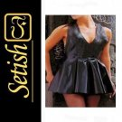 0.4 mm Black Latex catsuit Latex Rubber Dress  #skn027
