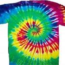 Tie Dye Spiral T-shirt Rainbow
