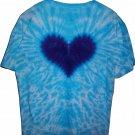 Tie Dye Heart T-shirt