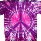 Tie Dye Peace Sign T Shirt