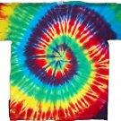 Tie Dye Rainbow Spiral T-shirt