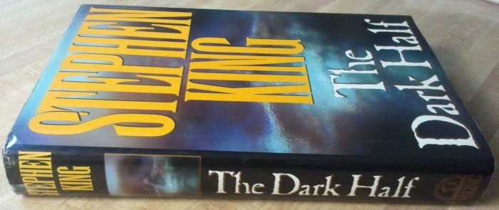 "Stephen King's ""The Dark Half"" - VERY GOOD CONDITION"