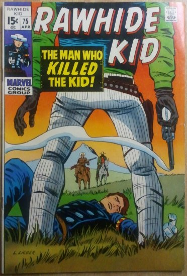 Lot (3) Rawhide Kid, Billy The Kid, The Western Kid 70s Comics