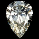 Genuine 2.02 CT GIA CERT Loose Pear Shape DIAMOND E SI2