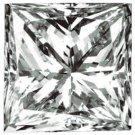 Genuine GIA Cert. 1.15 CT Square Princess  Cut  DIAMOND