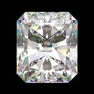 GIA CERTIFIED .57 CT CUSHION CUT LOOSE DIAMOND F VS1