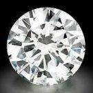 Genuine GIA Certified 1.03 ct ROUND Loose Diamond K SI1