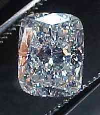 Genuine GIA Cert. 1.01 ct CUSHION Loose Diamond F VS2