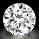 Genuine EGL Certified .96 ct Round Loose Diamond F VS1