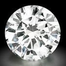GIA Certif .60 ct Round Brilliant Loose DIAMOND E VS2