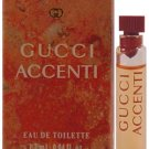 Gucci Accenti EDT Vial 0.04 oz/1.2 ml In Box