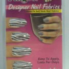 Fing'rs Designer Nail Fabic - Self Stick - Zebra - # 2349