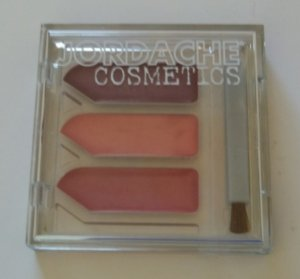 Lot of 2 - JORDACHE COSMETICS CREAM LIP GLOSS WITH BRUSH