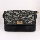 High End Quality Leatherette Clutch Bag w/ Embellishments - Choice of 2 colors